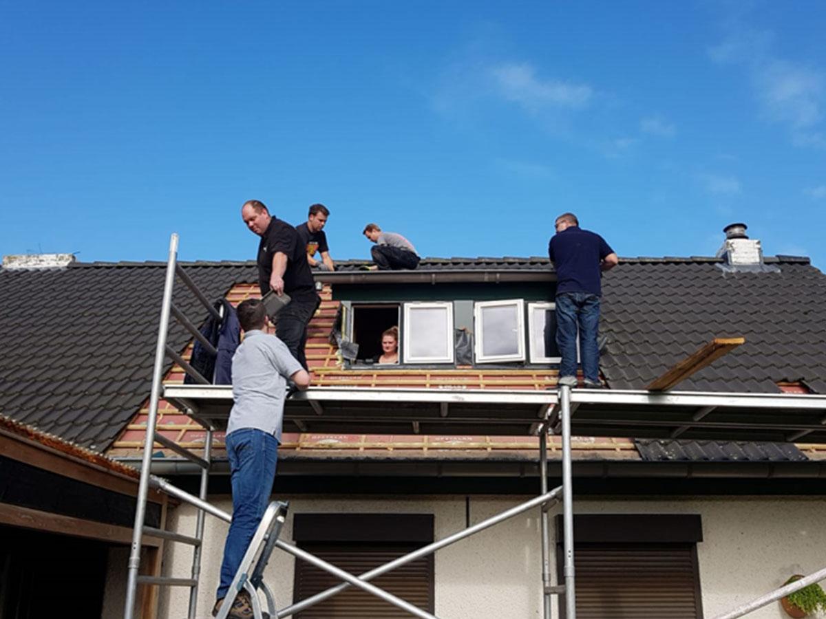 BVD dakkapel werkzaamheden